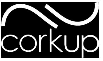 Corkup logo blanco