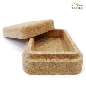 Jabonera original de corcho