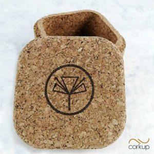 Jaboneras originales naturales personalizadas corcho