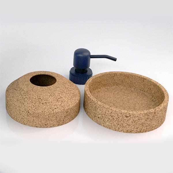 Envases cristal protección sostenible corcho