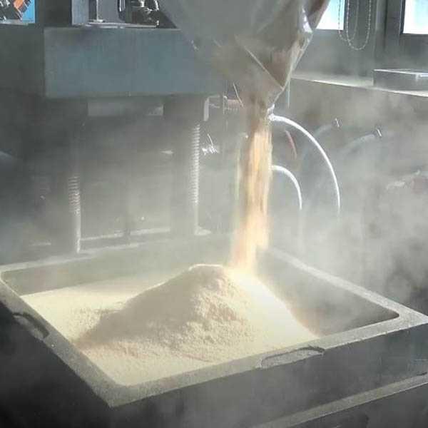 Fabricación con molde producto de corcho