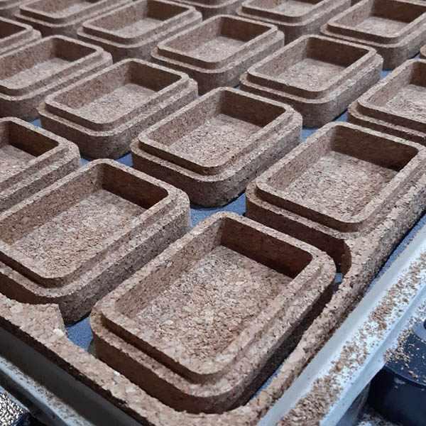 Fabricación productos de corcho