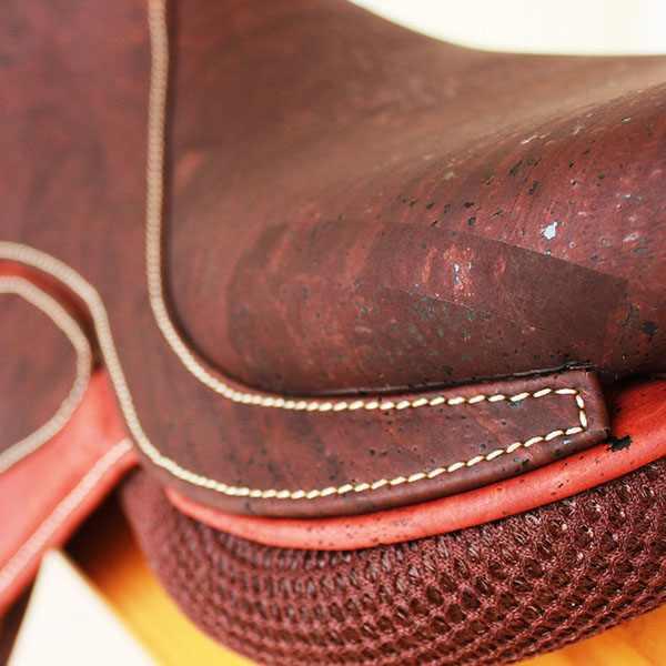 Tela de corcho marrón